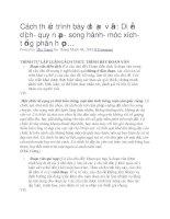 Cách thức trình bày đoạn văn diễn dịch  quy nạp  song hành  móc xích  tổng phân hợp…