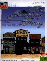 truyện tiếng anh:【2】4 the jumping frog