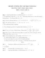 Đề cương ôn tập môn toán lớp 10 (34)