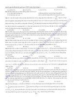 TUYỂN TẬP 90 ĐỀ THI THỬ QUỐC GIA THPT MÔN VẬT LÝ 1TẬP 3