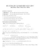Đề cương ôn tập môn toán lớp 9 (35)