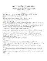 Đề cương ôn tập môn toán lớp 9 (30)