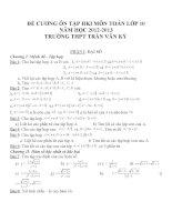 Đề cương ôn tập môn toán lớp 10 (53)