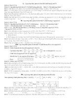 LẬP CTPT hợp CHẤT hữu cơ  đề 1  10a1