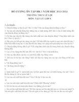 đề cương ôn tập môn vật lý lớp 8 (13)