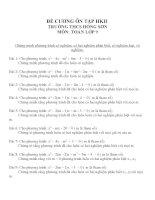 Đề cương ôn tập môn toán lớp 9 (11)