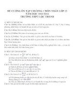 Đề cương ôn tập mon toán lớp 12  (5)