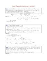 Bài tập tổng hợp lượng tử ánh sang có hướng dẫn