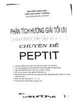 Phân tích hướng giải tối ưu chinh phục bài tập hóa học chuyên đề peptit