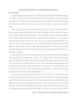 Bài văn mẫu lớp 10 số 5 đề 3   thuyết minh về di tích lịch sử   viết bài tập làm văn số 5 lớp 10