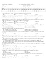 Tài liệu ôn tập môn sinh học lớp 12 luyện thi đại học (22)