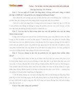 Bài tập Sinh học lớp 10: Prôtêin