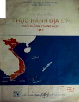 hướng dẫn thực hành địa lý thpt tập 3 nxb dai hoc quoc gia 2001