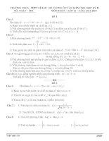 Đề cương ôn tập mon toán lớp 12  (41)
