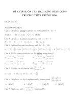 Đề cương ôn tập môn toán lớp 9 (21)