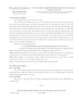 đề minh họa thi THPT QG môn văn 2017