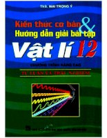 kiến thức cơ bản hướng dẫn giải bài tập vật lý 12 nxb dai hoc quoc gia 2008