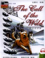 truyện tiếng anh:【2】6 the call of the wild