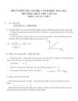 Đề cương ôn tập môn vật lý lớp 9 (34)