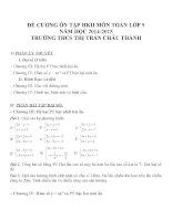 Đề cương ôn tập môn toán lớp 9 (22)