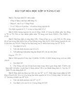 Bài tập hóa học lớp 10 (2)