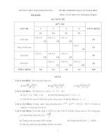 Đề cương ôn tập môn toán lớp 11 (2)