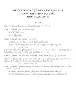 Đề cương ôn tập môn toán lớp 10 (67)