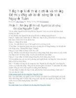 Tổng hợp kiến thức cơ bản và những đề thi về người lái đò sông đà của nguyễn tuân