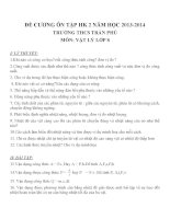 đề cương ôn tập môn vật lý lớp 8 (41)