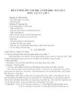 Đề cương ôn tập môn vật lý lớp 9 (35)