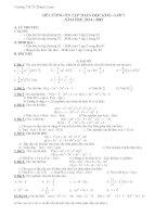 Đề cương ôn tập môn toán lớp 7  (1)