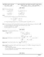 Đề cương ôn tập môn toán lớp 11 (13)