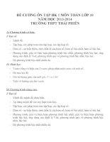 Đề cương ôn tập môn toán lớp 10 (26)