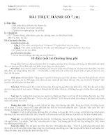 Giáo án tin học lớp 8 tuan 25 tiết 50 (bai thuc hanh so 7) (tt)