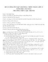 Đề cương ôn tập mon toán lớp 12  (8)
