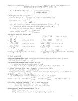 Đề cương ôn tập môn toán lớp 9 (1)