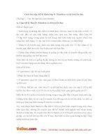 Giải bài tập SGK Sinh lớp 9:Menđen và di truyền học