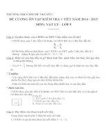 Đề cương ôn tập môn vật lý lớp 9 (5)
