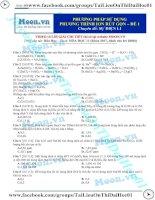 Thionline phuongphapsudungphuongtrinhionrutgon de1(baitaptuluyen de)