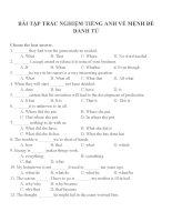 Bài tập trắc nghiệm môn tiếng anh 12 (46)