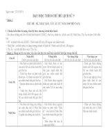 Dạy học theo chủ đề môn lịch sử 9kỳ i