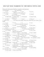 Bài tập trắc nghiệm các thì trong tiếng anh (10)