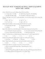 Bài tập trắc nghiệm môn hóa học (104)