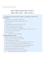 Tổng hợp đề cương môn tiếng anh (19)