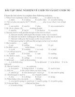 Bài tập trắc nghiệm môn tiếng anh 12 (10)