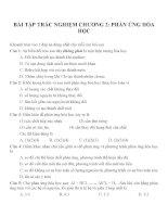 Bài tập trắc nghiệm môn hóa học (36)
