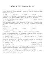 Bài tập trắc nghiệm môn hóa học (123)