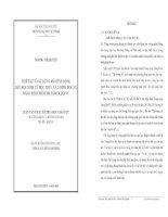 THIẾT KẾ VÀ SỬ DỤNG MÔ HÌNH ĐỘNG DẠY HỌC SINH LÝ HỌC THỰC VẬT (SINH HỌC 11) BẰNG PHẦN MỀM MS.POWER POINT