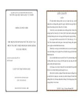 THU NHẬN ENZYM PAPAIN ĐỂ ỨNG DỤNG VÀO PHẢN ỨNG THỦY PHÂN PROTEIN TRONG BÁNH DẦU ĐẬU PHỘNG