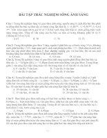 Bài tập trắc nghiệm môn vật lý lớp 12 (20)